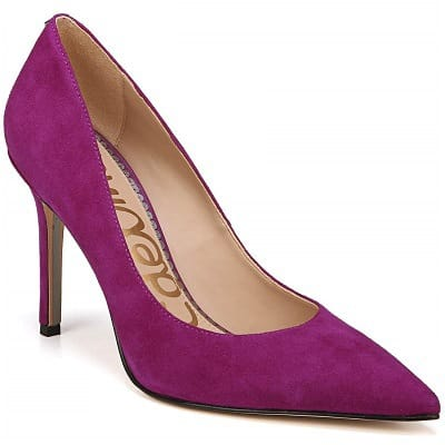 Purple Heels for the office - Sam Edelman