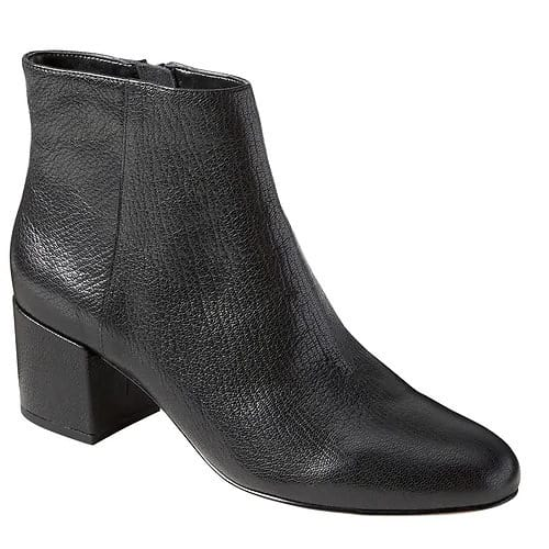 best ankle boot for work - banana republic