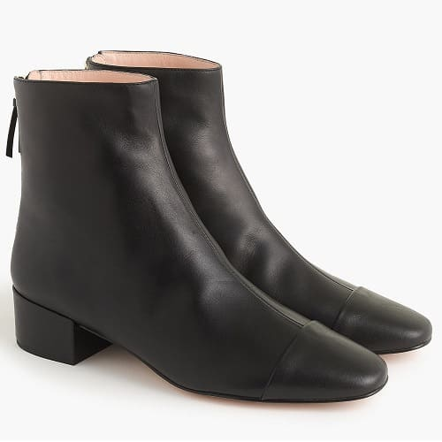 best ankle boots for work - JCrew