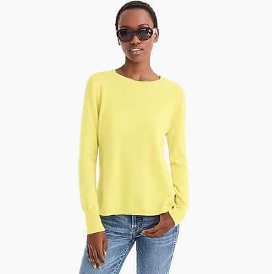 great cashmere sweaters for work - jcrew