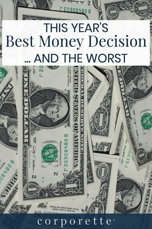 We're asking what was your BEST money decision this year -- and the worst? (Bonus round: what's your financial goal for 2019?) Kat's sharing hers...