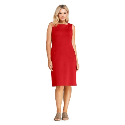 Thursday's Workwear Report: Square-Neck Ponte Sheath Dress