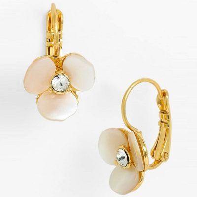 Coffee Break: Disco Pansy Earrings