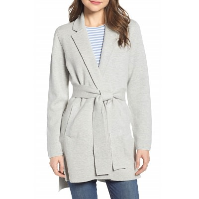 Wednesday's Workwear Report: Sophie Wrap Sweater Blazer