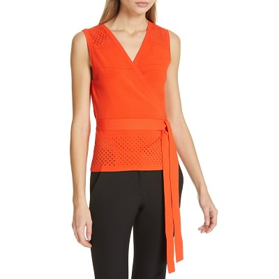Tuesday's Workwear Report: Saffa Faux Wrap Top