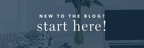 NEW TO THE BLOG? START HERE
