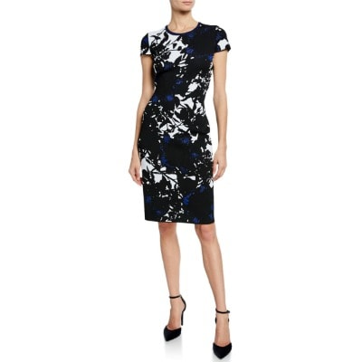 Splurge Monday's Workwear Report: Graphic Floral Jacquard