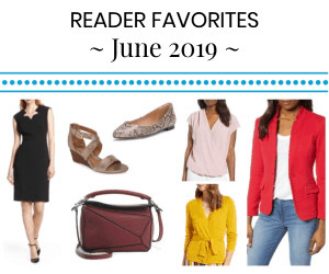 house ad for reader favorites - most bought items of June 2019