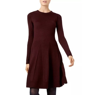 Splurge Monday's Workwear Report: Sarah Knit Fit-and-Flare Dress