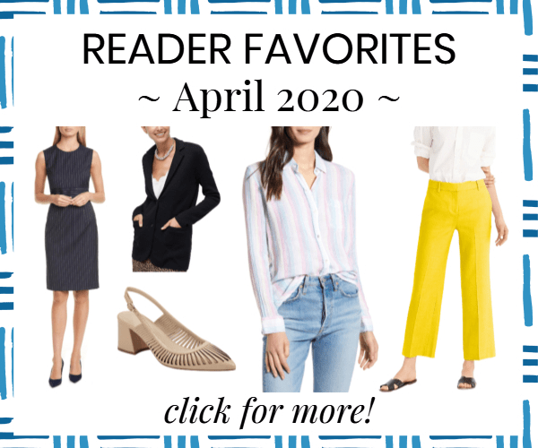 house ad for reader's most-bought items from April 2020