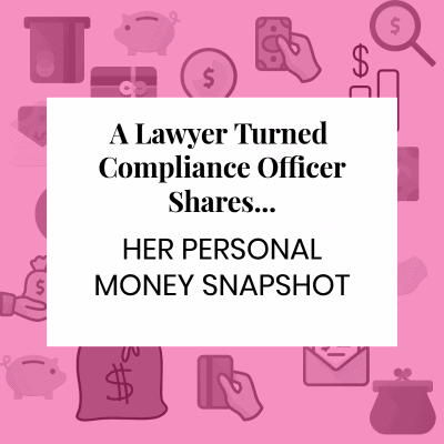 Money Snapshot: A Compliance Officer Shares Her Thoughts on Living in San Francisco, Leaving the Law, and Paying off Student Loans
