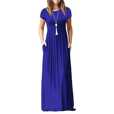 Frugal Friday's Workwear Report: Short-Sleeve Maxi Dress