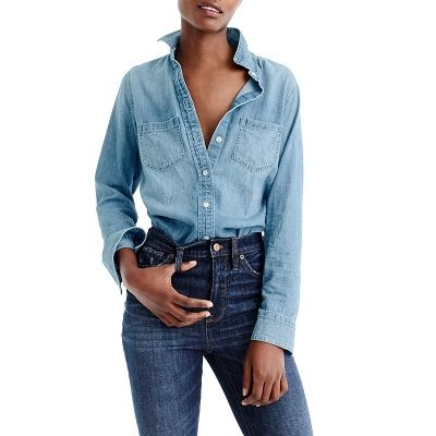 Thursday's Workwear Report: Everyday Chambray Shirt