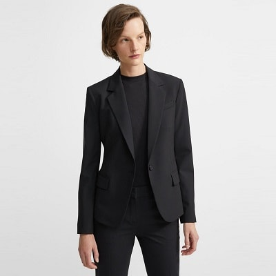 Home.fit Gabe-Blazer-In-Stretch-Wool Workwear Finds! Here's Everything Readers Bought for Work in March 2021