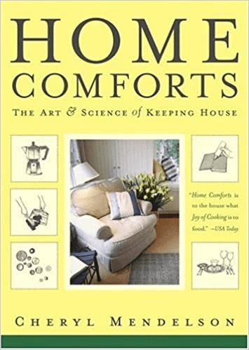 book cover: Home Comforts: The Art & Science of Keeping House