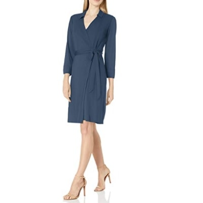 Home.fit Matte-Jersey-Collared-V-Neck-Long-Sleeve-Wrap-Dress Some of the Top Things Readers Bought in February 2021…