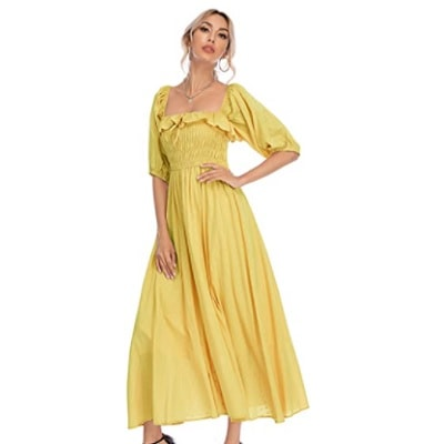 Home.fit Summer-Half-Sleeve-Cotton-Ruffled-Vintage-Elegant-Backless-A-Line-Flowy-Long-Dresses Some of the Top Things Readers Bought in February 2021…