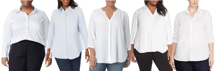 Home.fit best-plus-size-blouses-for-women The Best Women's Collared Shirts