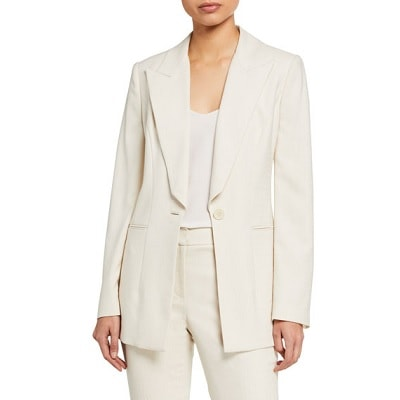 Home.fit Elie-Tahari-Blazer-at-Neiman-Marcus Workwear Finds! Here's Everything Readers Bought for Work in March 2021