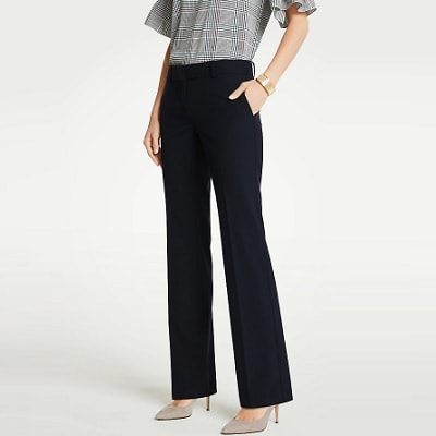 Home.fit The-Trouser-Pant-In-Seasonless-Stretch Workwear Finds! Here's Everything Readers Bought for Work in March 2021