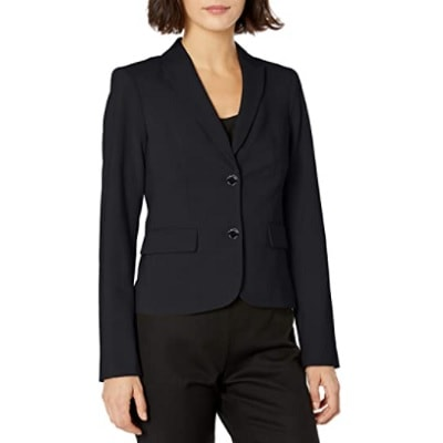 Home.fit Womens-Two-Button-Lux-Blazer Workwear Finds! Here's Everything Readers Bought for Work in March 2021